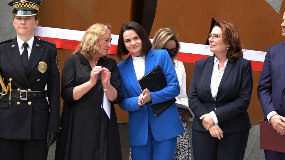 """Rocznica 4 czerwca z udziałem Cichanouskiej i wpis Terleckiego: """"powinna szukać pomocy w Moskwie"""""""