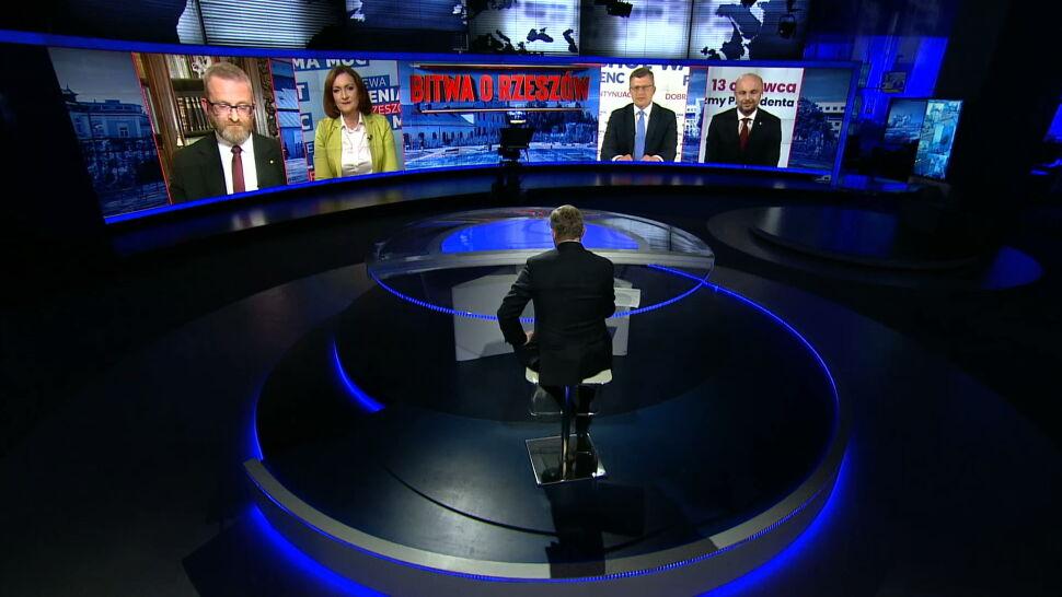 Kandydaci na prezydenta Rzeszowa po raz drugi zmierzyli się w debacie