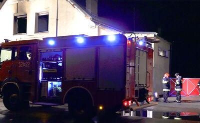 Tragiczny pożar w miejscowości Ryczywół. Nie żyje 5 osób