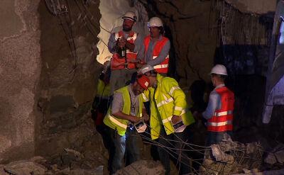 """""""Jest to pierwszy tak długi przebity tunel w Polsce"""""""