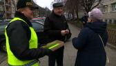 Odblaski dla babci i dziadka. Akcja policji w Szczecinie