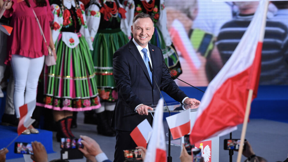 """Andrzej Duda zwycięzcą pierwszej tury. """"Prowadzimy kampanię nadal"""""""