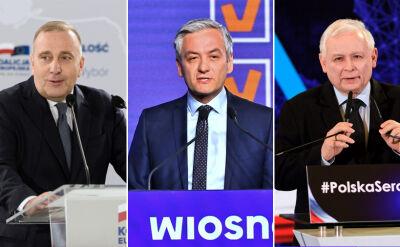 Biedroń we Wrocławiu, Schetyna i Kaczyński w Poznaniu. Sobotni pojedynek na konwencje