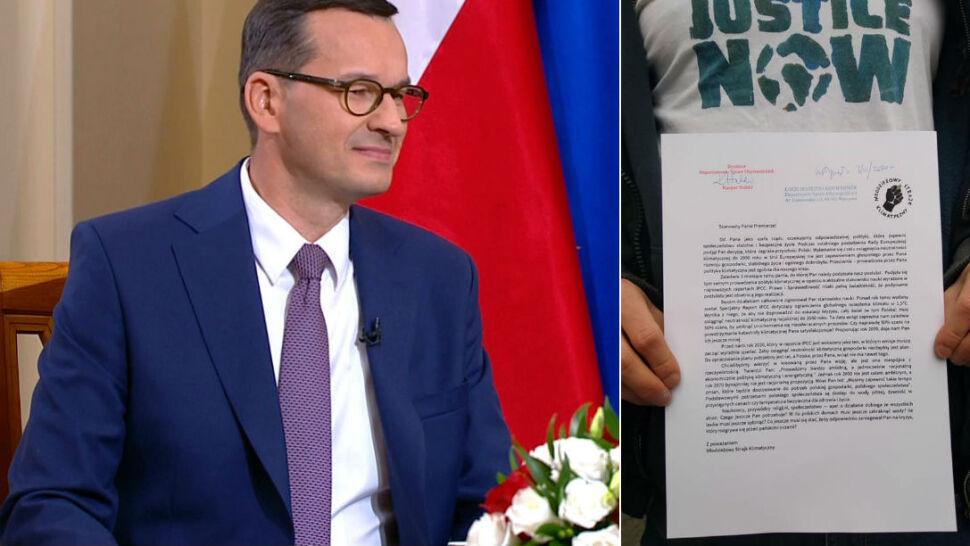"""Młodzieżowy Strajk Klimatyczny pisze list do Mateusza Morawieckiego. """"Tu chodzi o naszą przyszłość"""""""