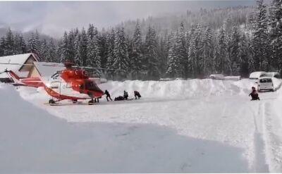 Schronisko ewakuowane, obserwatorium zasypane. W Tatrach od dawna nie widziano tyle śniegu