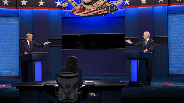 23.10.2020   Biden kontra Trump. Ostatnia debata prezydencka