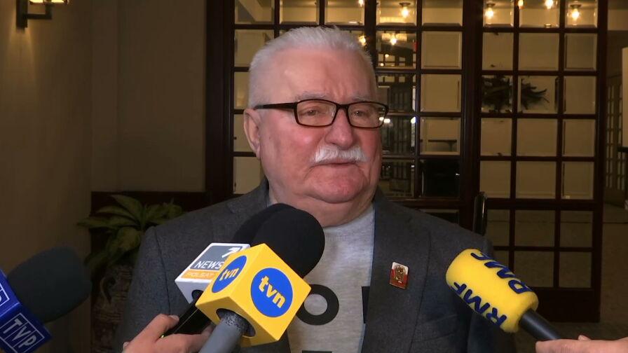 Lech Wałęsa w Białym Domu
