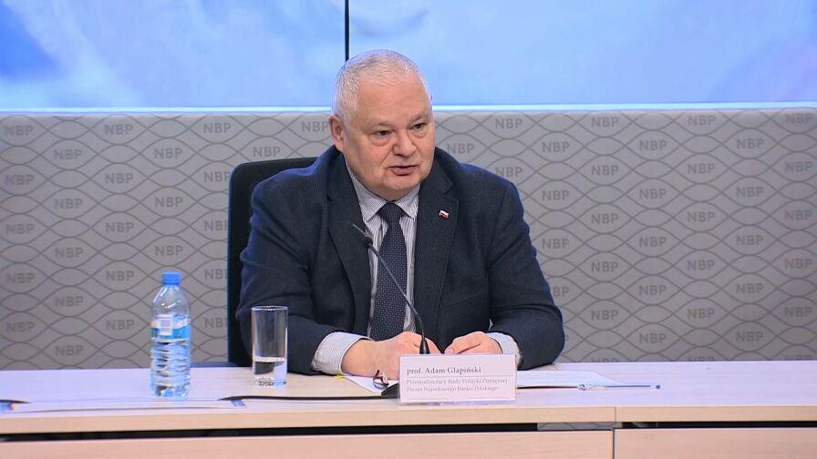 Glapiński zabrał głos w sprawie ustawy o jawności w NBP