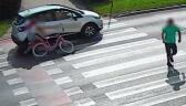 Nie zatrzymał się przed pasami, potrącił dziecko na rowerze. Policja publikuje nagranie