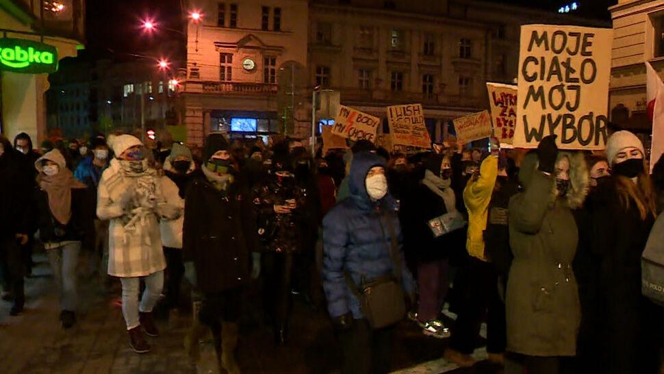 Gdańsk, Szczecin, Poznań, Łódź. Strajk Kobiet znów na ulicach polskich miast