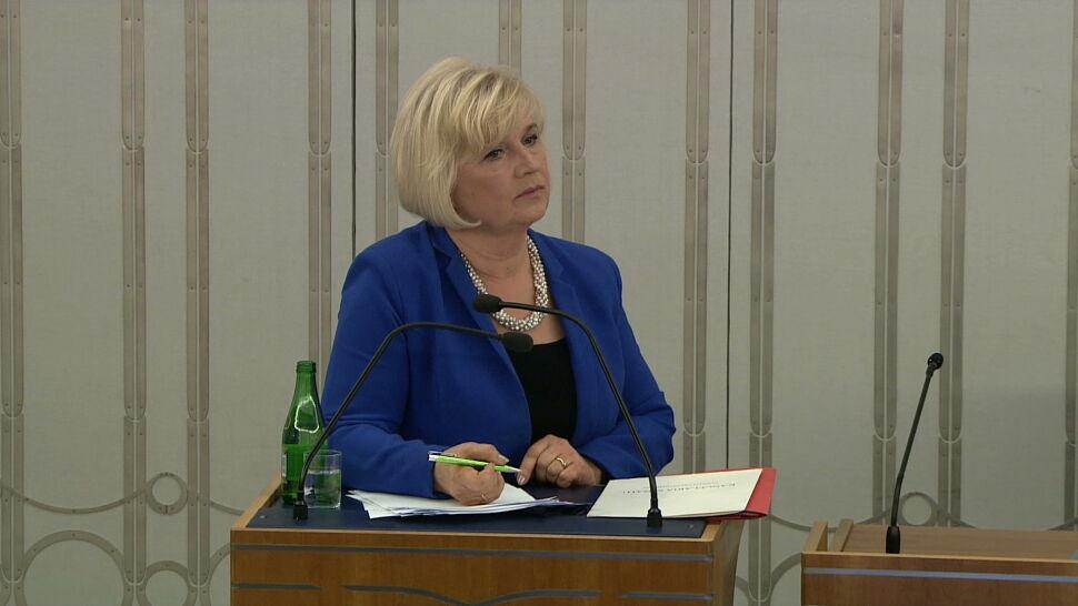 Senat zdecydował w sprawie RPO. Nominacja Lidii Staroń odrzucona