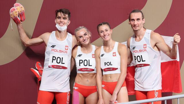 31.07.2021 | Tokio 2020. Polska z drugim medalem na igrzyskach. Złoto dla sztafety mieszanej 4x400