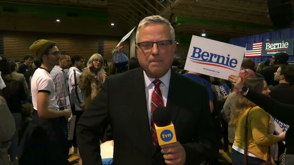 Wyborcze emocje w USA. Relacja z wiecu Berniego Sandersa