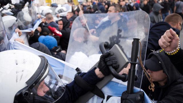 28.09.2019 | Próby blokowania Marszu Równości w Lublinie. Interweniowała policja