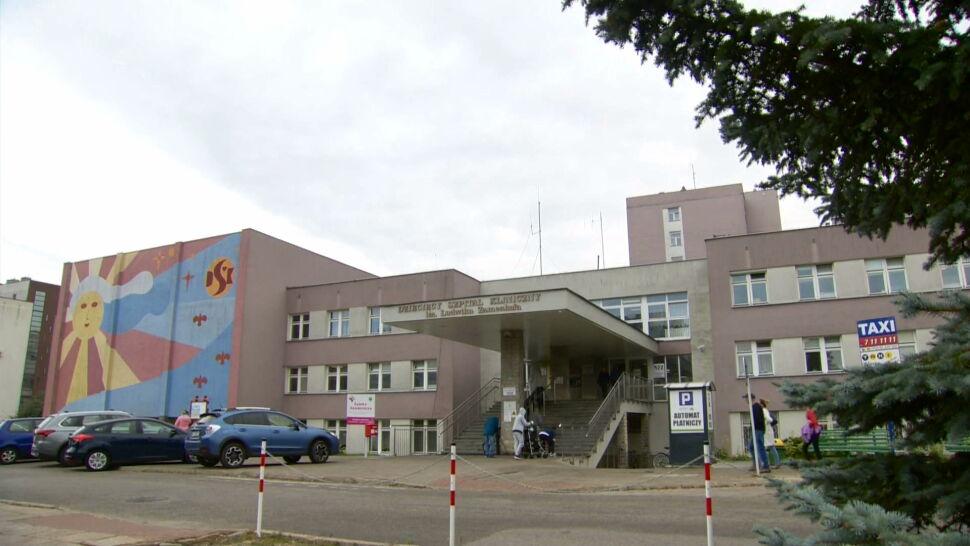 Pracownicy szpitala w Białymstoku martwią się o wypłaty. Dyrekcja uspokaja