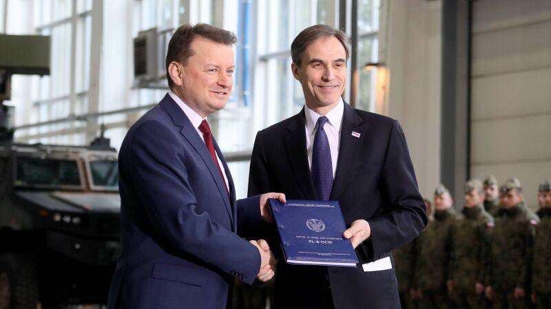 Umowa na Patrioty podpisana