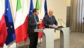 """Kontrowersje wokół wizyty Salviniego. """"Kaczyński chce rozbicia UE"""""""