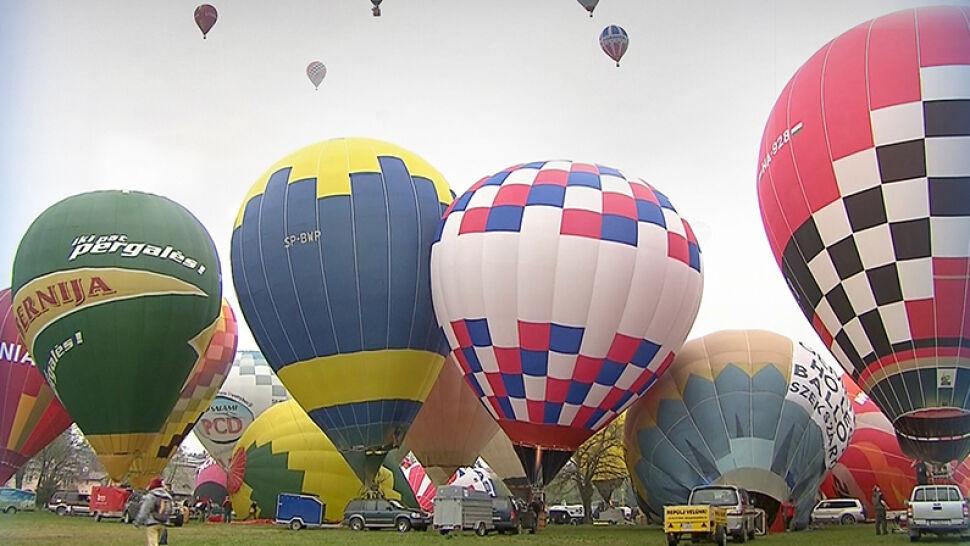 """Zawody balonowe w Krośnie. """"Każdy lot to przygoda. Nie do zaplanowania"""""""