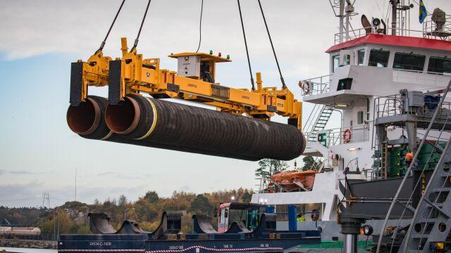 """Wall Street Journal"": groźba sankcji wisi nad Nord Stream 2"