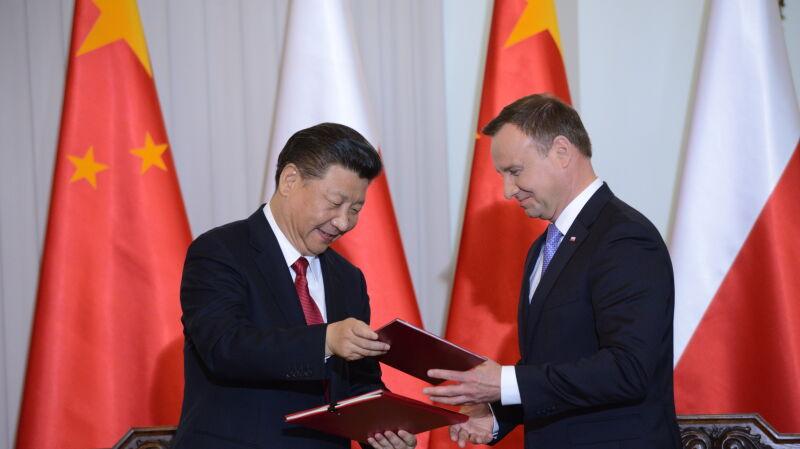 Cała konferencja prasowa prezydenta Andrzeja Dudy i przywódcy Chin Xi Jinpinga
