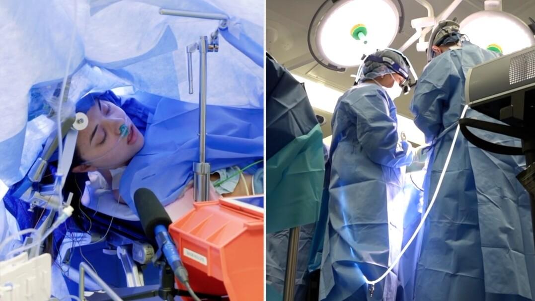Operacja mózgu na przytomnej pacjentce była transmitowana na Facebooku