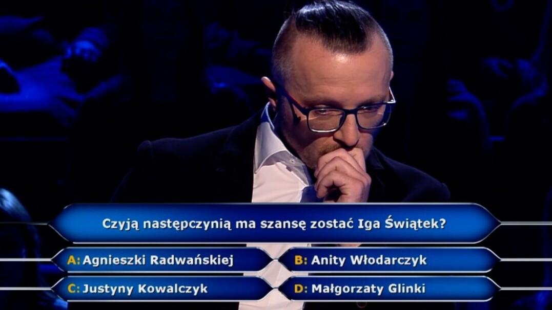 """Sportowe pytanie z """"Milionerów"""" za dwa tysiące złotych"""