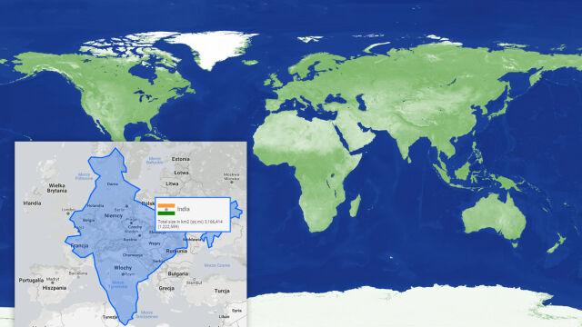 Czy Afryka jest większa czy mniejsza od Grenlandii? 450 lat siatki Merkatora