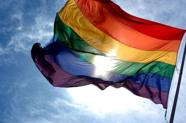 Tęczowa flaga symbolizująca społeczności LGBT wikipedia.pl