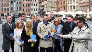Trzaskowski pokazuje program: inwestycje dla warszawiaków i w warszawiaków