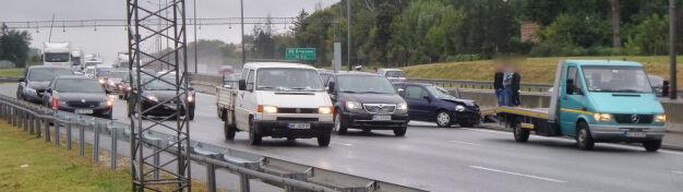 Renault na barierkach