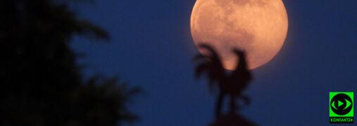 Pierwsza wiosenna pełnia Księżyca waszymi oczami