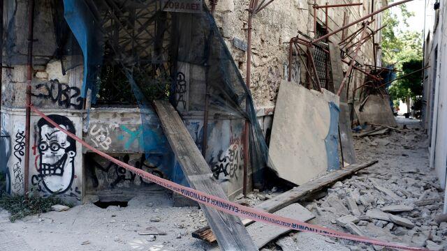 Dwa wstrząsy w pobliżu Aten. Pękały ściany