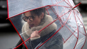 Weather forecast for Monday: wet and windy Monday