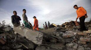 Płytkie trzęsienie ziemi w Indonezji. Nie żyją co najmniej 22 osoby