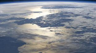 Tak wygląda polskie wybrzeże z pokładu ISS