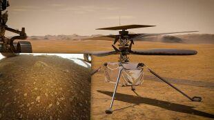 Dron Ingenuity zrobił pierwsze zdjęcie na Marsie