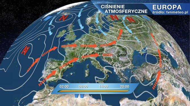 Niż Helga wpłynie na pogodę w Polsce
