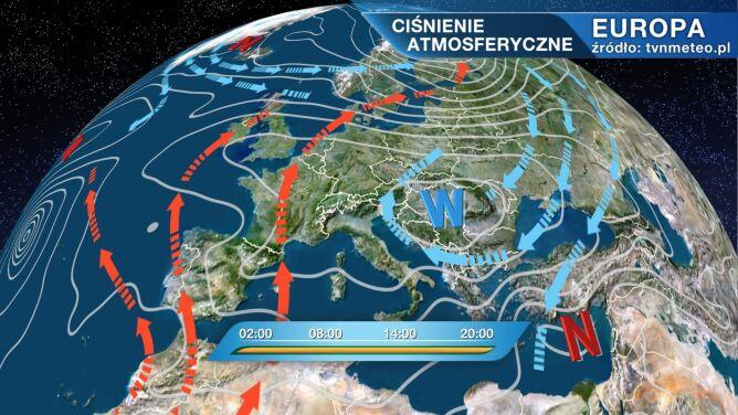 Pogodą będzie rządził wyż znad Rumunii