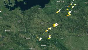 Grzmi w wielu regionach. Sprawdź, gdzie jest burza