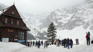 Niebezpiecznie w górach. W Tatrach lawinowa
