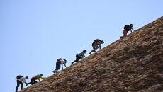 Uluru znajduje się na liście UNESCO (PAP/EPA/LUKAS COCH)