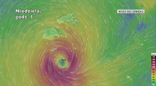 Trasa cyklonu tropikalnego Sarai