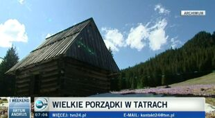 """W sobotę """"Największe sprzątanie Tatr w historii"""" (TVN24)"""